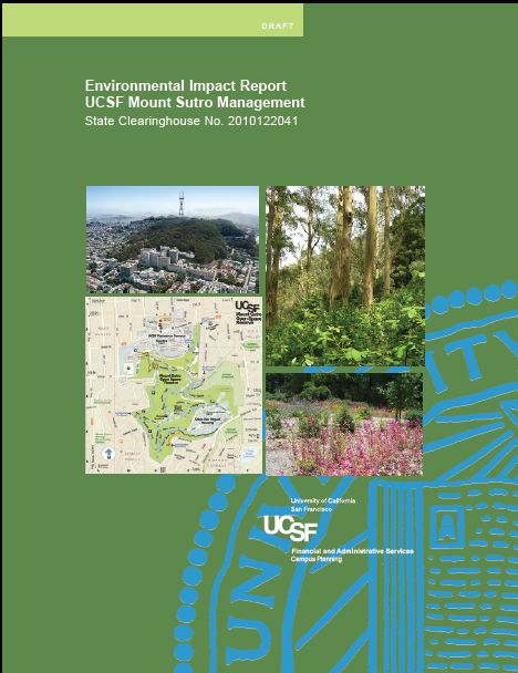 UCSF draft report cover