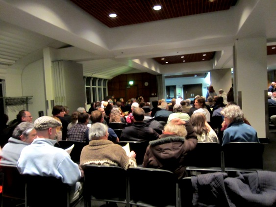 UCSF Public Hearing on Sutro Forest feb 2013