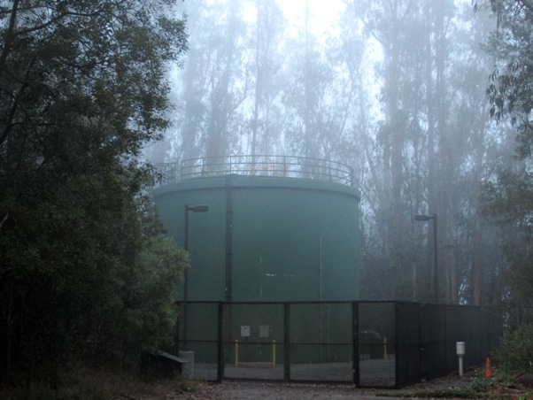 water tank 1 in July 2013